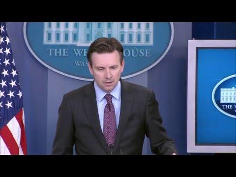 4/14/16: White House Press Briefing