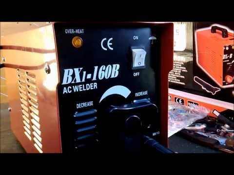 AC ARC WELDING MACHINE BX-160 REVIEW