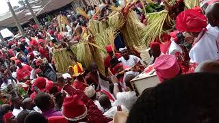 IDJU OWHURIE (AGBASSA JUJU) Which is celebrated by the great AGBARHA WARRI kingdom