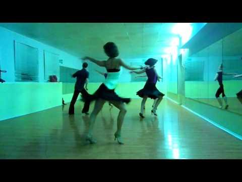 Jane Kornienko, Solo Salsa in Trinity Dance