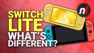 What's Missing in the Nintendo Switch Lite?
