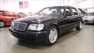 1999 Mercedes Benz S600 Black