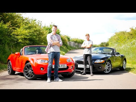 Soft Top Showdown #1: Mazda MX-5 vs BMW Z4