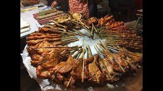 Vientiane Street Food - Laos Night Market 2017