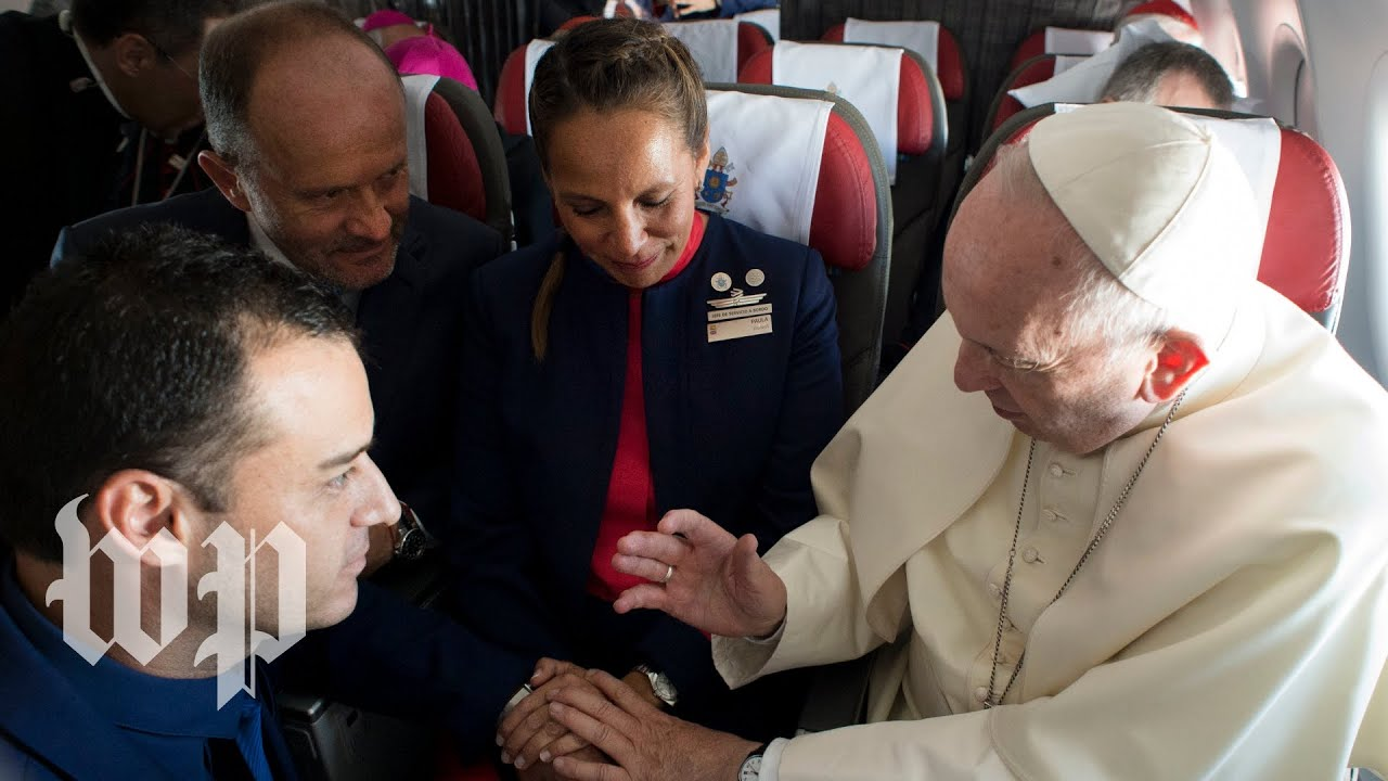 Pope Francis presides over mile-high wedding