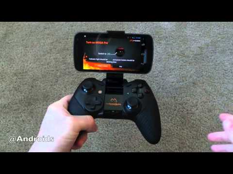 MOGA Pro controller video review