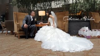 Vadim and Catherine. Wedding Trailer. Seattle wedding videographer.