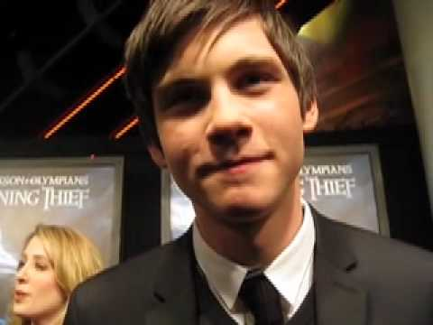 Logan Lerman On Percy Jackson! Video