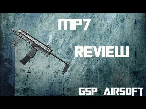 HK MP7 A1 Softair Review [GsP Airsoft] German