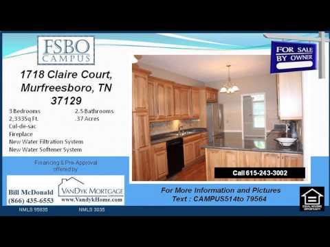 3 bedroom Home for Sale near Siegel High School in Murfreesboro TN