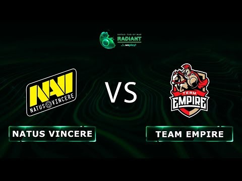 СВИРЕПЫЙ НАГИБ | Natus Vincere vs Team Empire - RU @Map2 | Dota 2 Tug of War: Radiant | WePlay!