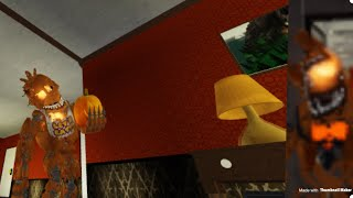 Roblox Afton's Family Diner Jack O Skin Gamepass