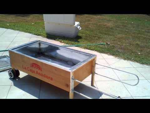 La Caja Asadora. La Caja China. Cuban Pig Roaster home video