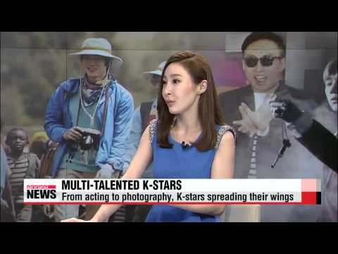Multi-talented K-stars expand into other genres