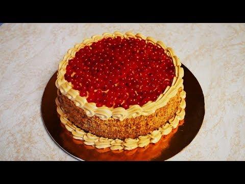 Рецепт ШОКОЛАДНОГО торта Украшаем торт сливками