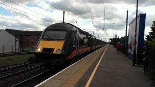 Grand Central 43423 'Valenta 1972-2010' And 43480 Depart Northallerton 1 Tone