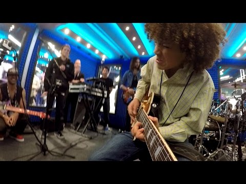 GoPro: 11-Year-Old Guitarist Shreds at NAMM