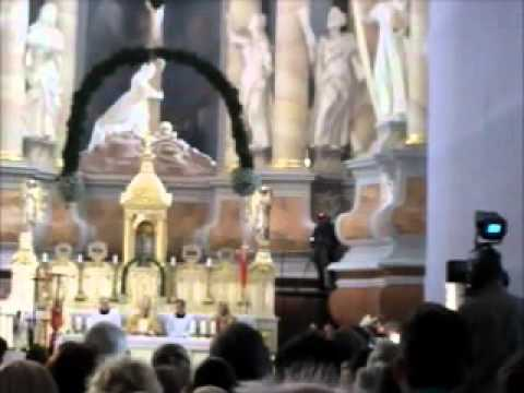 Kauno Šv. Petro ir Povilo arkikatedra bazilika 600metu 2013,05,05pamokslas