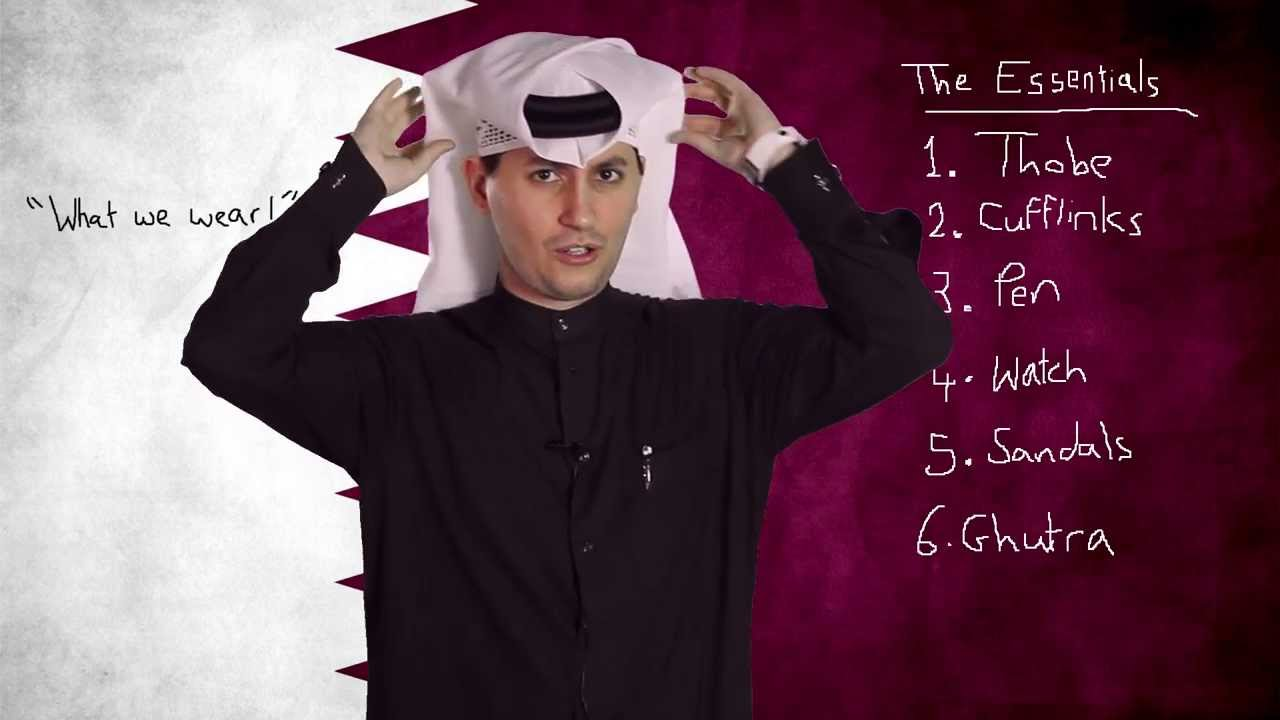 #Qtip: Qatari Men's National Dress (and what we wear under ...