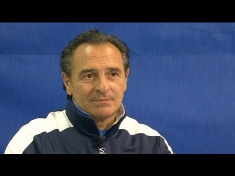 euronews interview - Prandelli does it his way ahead of 2014