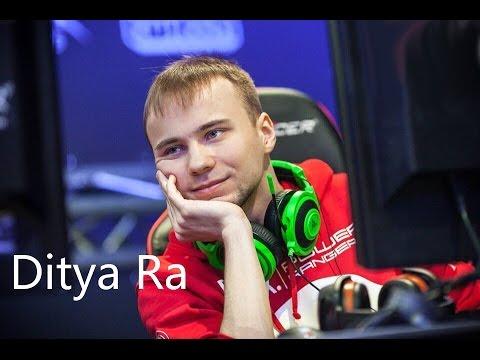 Истории игроков  Dota 2(Ditya Ra)