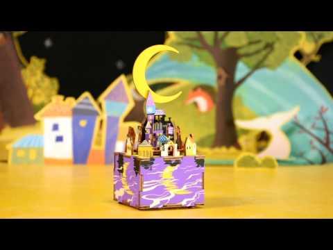DIY 3D Music Box @SuperSmartChoices-  Midsummer Night Dream