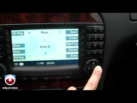 2004 Mercedes Benz S55 iPod AUX USB Adapter Dension GW51MO2 Product Demonstration