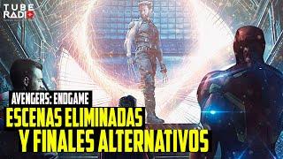 Avengers Endgame escenas eliminadas y  finales alternativos | Tube Radio