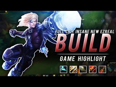 Gosu - FULL CRIT INSANE NEW EZREAL BUILD (GAME HIGHLIGHT)