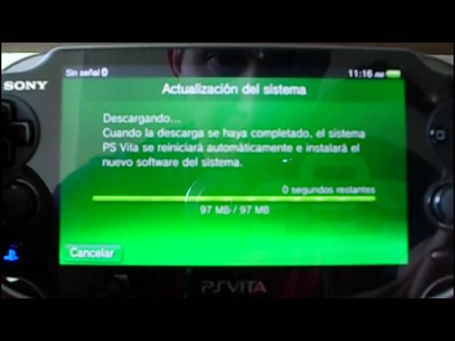 Actualizar PS Vita via WiFi