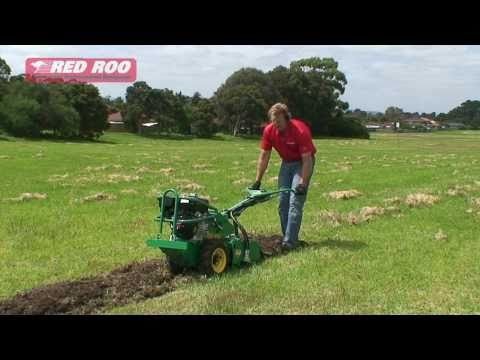 Red Roo: Rotary Hoe Cultivator Tiller