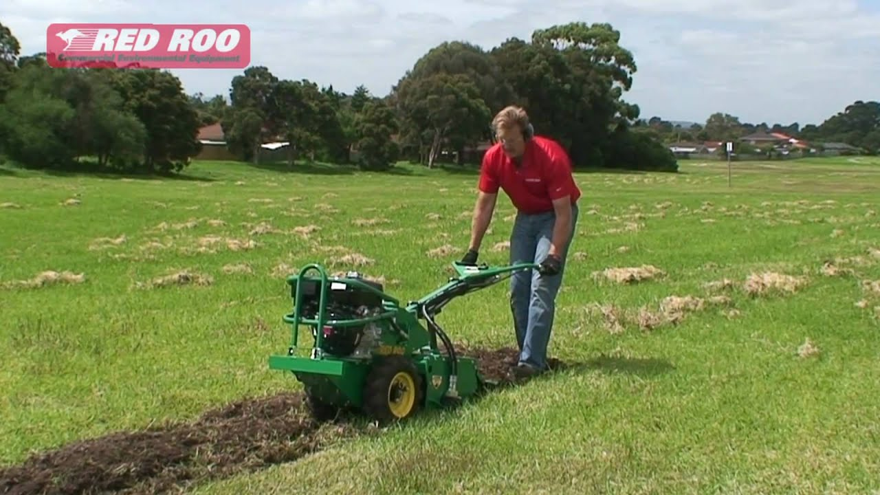 Red Roo Rotary Hoe Cultivator Tiller Youtube