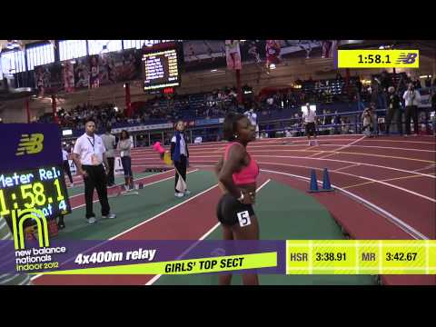G 4x400 H04 (Junior Striders T+F Club 3:43.01, HS Indoor Nationals 2012)
