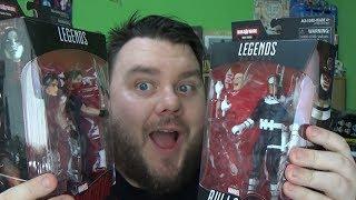 "Marvel Legends Bullseye & Elektra  Man-Thing Wave Action Figure Review ""Death Of Elektra"""