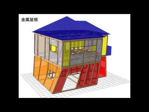重い屋根&軽い屋根の耐震について
