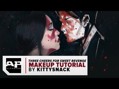 LOOK EXTRA DEAD!!! Three Cheers for Sweet Revenge Makeup Tutorial