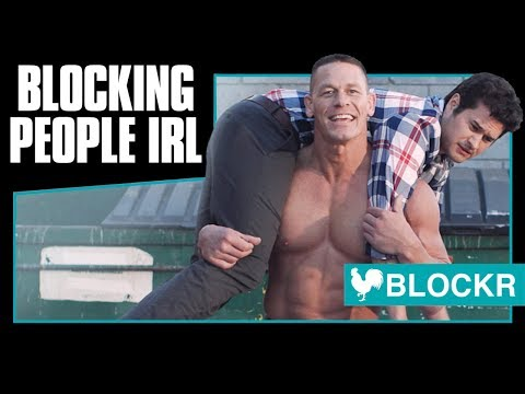 Blockr - The App for Blocking People IRL with John Cena