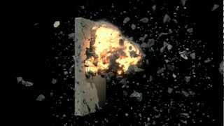 blender 2.65 Concrete block explosion