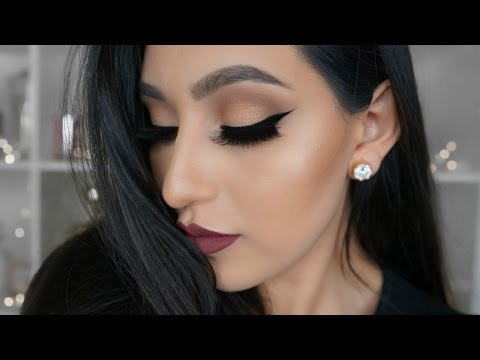 DATE NIGHT MAKEUP TUTORIAL FT CHAMPAGNE COLLECTION | BeautyyBird