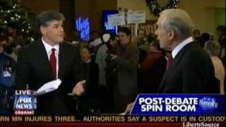 "Ron Paul On Iran: ""Wipe Israel Off The Map?"""