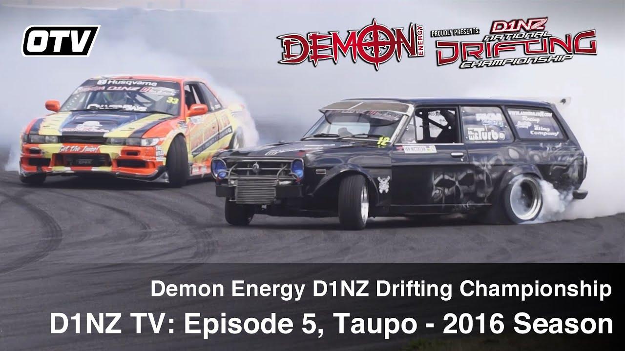 D1NZ Drifting: Episode 5 - R3 Taupo 2016 Season (D1NZ TV3)