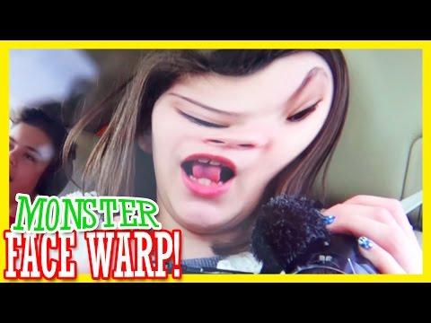 Monster Face Warp!!     Kittiesmama video
