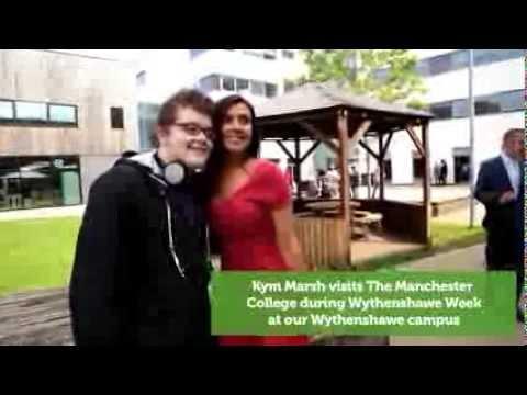 Wythenshawe Week - Kym Marsh visits The Manchester College