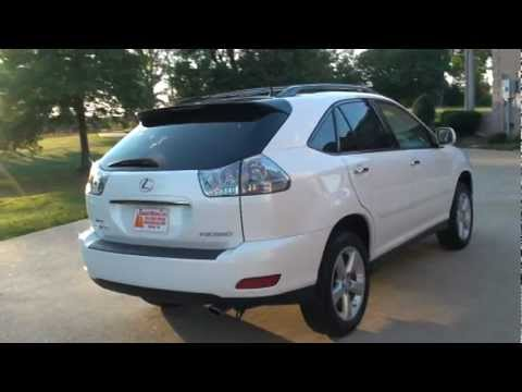 2009 lexus rx 350 awd pearl white for sale see www