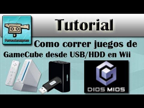 WII TUTORIAL COMO CORRER JUEGOS DE GAMECUBE DESDE USB EN WII