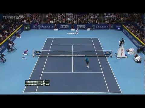 Bazel 2011 Finale - Roger Federer vs Kei Nishikori