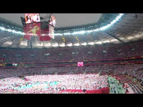 Polska Biało-czerwoni!  Mecz Polska - Serbia - Mistrzostwa  Świata W Siatkówce 30.08.2014
