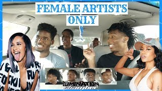 Aux Battles Elimination: Female Artists ONLY (FT. Nicki Minaj, Young M.A., Cardi B, and more)