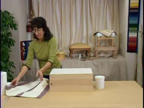 Aprende a tapizar una caja (1)- Curso de Monitor de Manualidades de CCC: