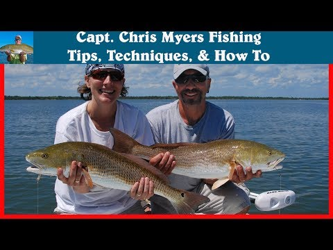 Mosquito Lagoon Redfish on the DOA Baitbuster